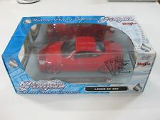 MAISTO LEXUS SC 430 RED PLAYERZ LUXURY DIECAST COLLECTION E:1/18 NEW!!!