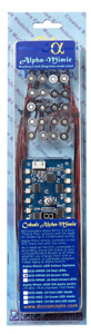 DCC Concepts DCD-MPRW Alpha-Mimic Panel Controller (with Red & White LEDs) - T48