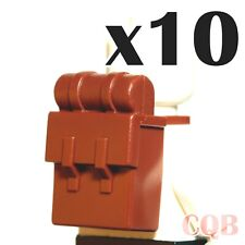 NEW LEGO - Body Wear - Backpack Reddish Brown x 10 - Pirates - Imperial