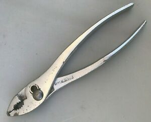"Vintage Mac Tools Model P-28-A 8"" Slip Joint Pliers - Made in USA P28A"