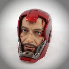 Hot Toys Iron Man 3 Silver Centurion MARK XXXIII 1/6 BD TONY STARK HELMETED HEAD