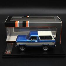 1:43 Premium X FORD BRONCO 1978 METALLIC LIGHT  BLUE PRD045 Limited Edition Car