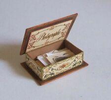 dollhouse miniature printie KIT - Vintage Photograph Box kit