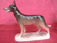 Belle, vieille porcelaine personnage ___ chien de berger __ Katzhütte _!