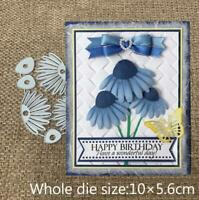 Metal Cutting Dies cut die flower decoration Scrapbooking Paper Card Embossing