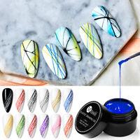 MTSSII 5ml Spider Soak Off UV Gel Painting Drawing Nail Art Gel Polish Designs