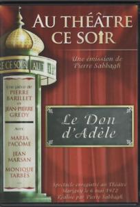 Au Theatre Ce Soir Dvd Le Don D'Adèle Pierre Barillet Maria Pacome Marsan Tarbès