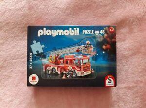 Playmobil Novelmore Feuerwehr Puzzle NEU OVP 48 Teile