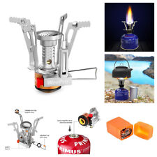 Ultralight Portable Outdoor Backpacking Camping mini Stoves Butane Propane