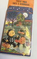 CUTE! 18 Halloween Treat Bags BETH BOSO American Greetings Paper Bears Vtg New