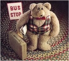 """Bradstreet Bear Teddy 19"""" Tall Soft Toy DIAGRAM Sewing Pattern S10107 (NOT TOY)"""