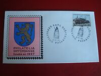 LUXEMBOURG - 1966 RAILWAYMEN`S EXHIBITION - FIRST DAY COVER -  EX. CONDITION