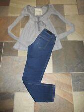 Jr Girl's Lot-Celebrity Pink Jeans, Size 1 & Abercrombie Rabbit Sweater, Large