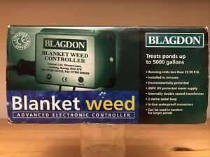 Electronic Blanket Weed Controller Treats Up To 5000 Gallons