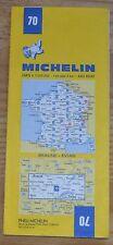 Carte Michelin 1-200 000e n°70 Beaune-Evian, 1984