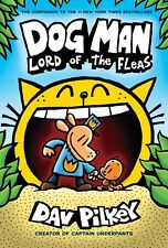 Dog Man 5: Lord of the Fleas: From the Creator of Captain Underpants Hardcover