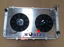 NEW For Y60 PATROL GQ 4.2L TB42S TB42E Petrol Aluminum RADIATOR + Shroud + Fans