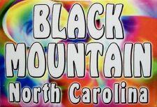 Black Mountain North Carolina Tye Die Fridge Magnet
