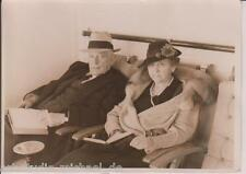 Richard fleischhut: gobernador of ill. f. o. lowden con esposa a Brem vintag,