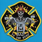 HOUSTON TEXAS TX FIRE DEPT ENG 31 BAD TO THE BONE MC HARLEY SKULL EMS (FIRE) PD