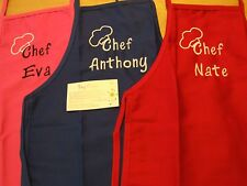 Personalized or Monogrammed Child's 13x19 Apron with Pockets
