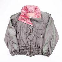 Vintage KAELIN Khaki Green Outdoor Winter Ski Jacket Womens Size Small