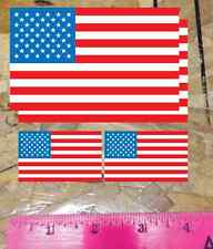 USA Flag Sticker vinyl car bumper decal outdoor United States America 3 for 1