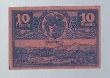 Notgeld - Schlesien - Hirschberg (heute Jelenia Góra in Polen) - 10 Pf. - 1920