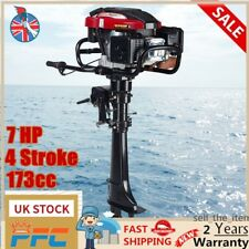7HP 4 Stroke Outboard Motor Engine Sail Boat Motor Engine Air Cooling Port 5.1KW
