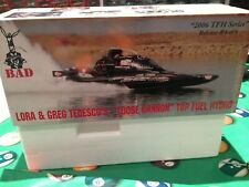 BAD ASS Top Fuel Hydro Drag Boat With Trailer 1:18 scale BRAND NEW Never out Box