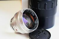 RARE CARL ZEISS JENA SONNAR T 1:1.5 f=50mm Rangefinder Contax mount EXC