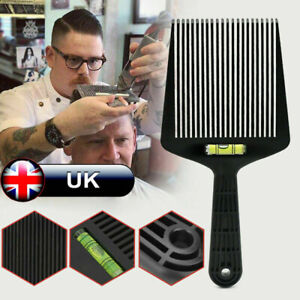 Flat Top Guide Comb Level Flat Topper Straight Hair Cut Barbers Salon Home Comb