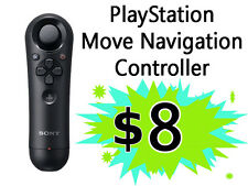 PlayStation Move Navigation Controller - PlayStation 3 PS3 / Used - Good Shape