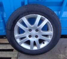 2004 HONDA CIVIC 15'' 4 STUD ALLOY WHEEL AND TYRE 195/60R15
