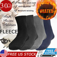 1 3 Pairs Wool Cashmere Comfortable Thick Socks Mens Winter Outdoor Sports Socks