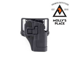 BLACKHAWK 410502BK-R, SERPA CQC Glock 19, 23, 32, 36 Holster Right Hand Black