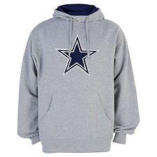 NFL Dallas Cowboys Gray Reeve Hooded Sweatshirt Hoodie, XX-Large