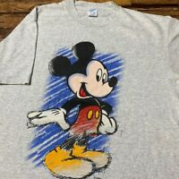 VINTAGE MICKEY MOUSE Walt Disney 90s T-Shirt Made In USA Size XL