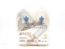 Nokya 9003/H4/HB2 Cosmic White Headlight Pro Halogen Light Bulbs Twin Pack 5000K