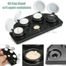 Replaceabl Oil Cup Stand with 4 Agate Containers for Watchmaker Watch Repair