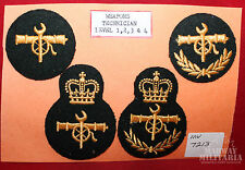 DEU Trade Badge Lot: Weapons Technician Groups 1-4  (inv7213)