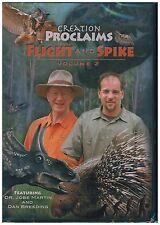 Creation Proclaims 2: Flight & Spike DVD - Dr. Jobe Martin