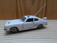 Ford Capri 1700 GT Polizei Siku V 310 sehr alt  Rarität