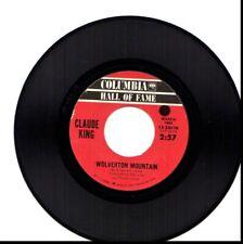 CLAUDE KING WOLVERTON MOUNTAIN/SAM HILL 45RPM VINYL