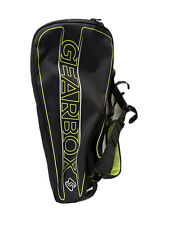 GEARBOX Black with Green Club Bag. Used. Great Condition. Racquetball Bag.