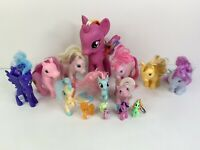 Authentic Hasbro My Little Pony MLP Figures Lot Of 13 + Fakie - 1985, 2007