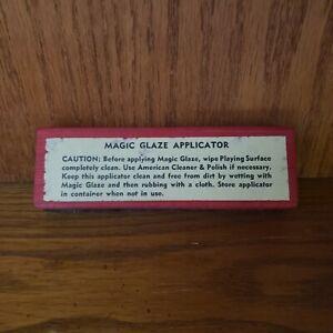 Vintage American Shuffleboard Magic Glaze Applicator