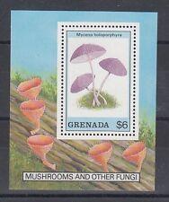 Pilze Mushrooms Funghi  -  Grenada  Block 227    **  (mnh)