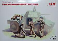 French Armoured Vehicle Crew (1940)  - art. 35615  - ICM 1/35