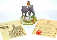 Lilliput Lane Rowan Lodge handmade UK Box Warwickshire England